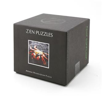 WOODEN PUZZLE Red Crab