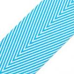 TWILL/STRIPES TURQUOISE