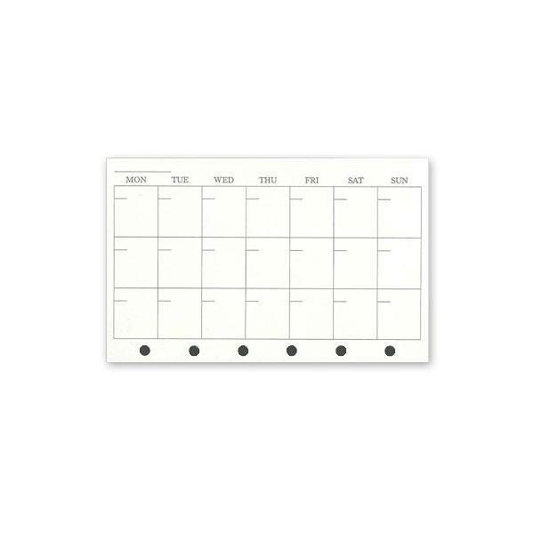無月間ダイアリー<カレンダー ... : カレンダー 日にち : カレンダー